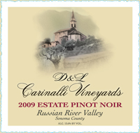 2009 Estate Pinot Noir - Russian River Valley - Sonoma County