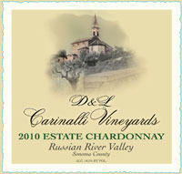 2010 Estate Chardonnay - Russian River Valley - Sonoma County