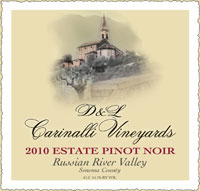 2010 Estate Pinot Noir - Russian River Valley - Sonoma County