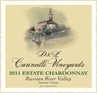 2011 Estate Chardonnay - Russian River Valley - Sonoma County